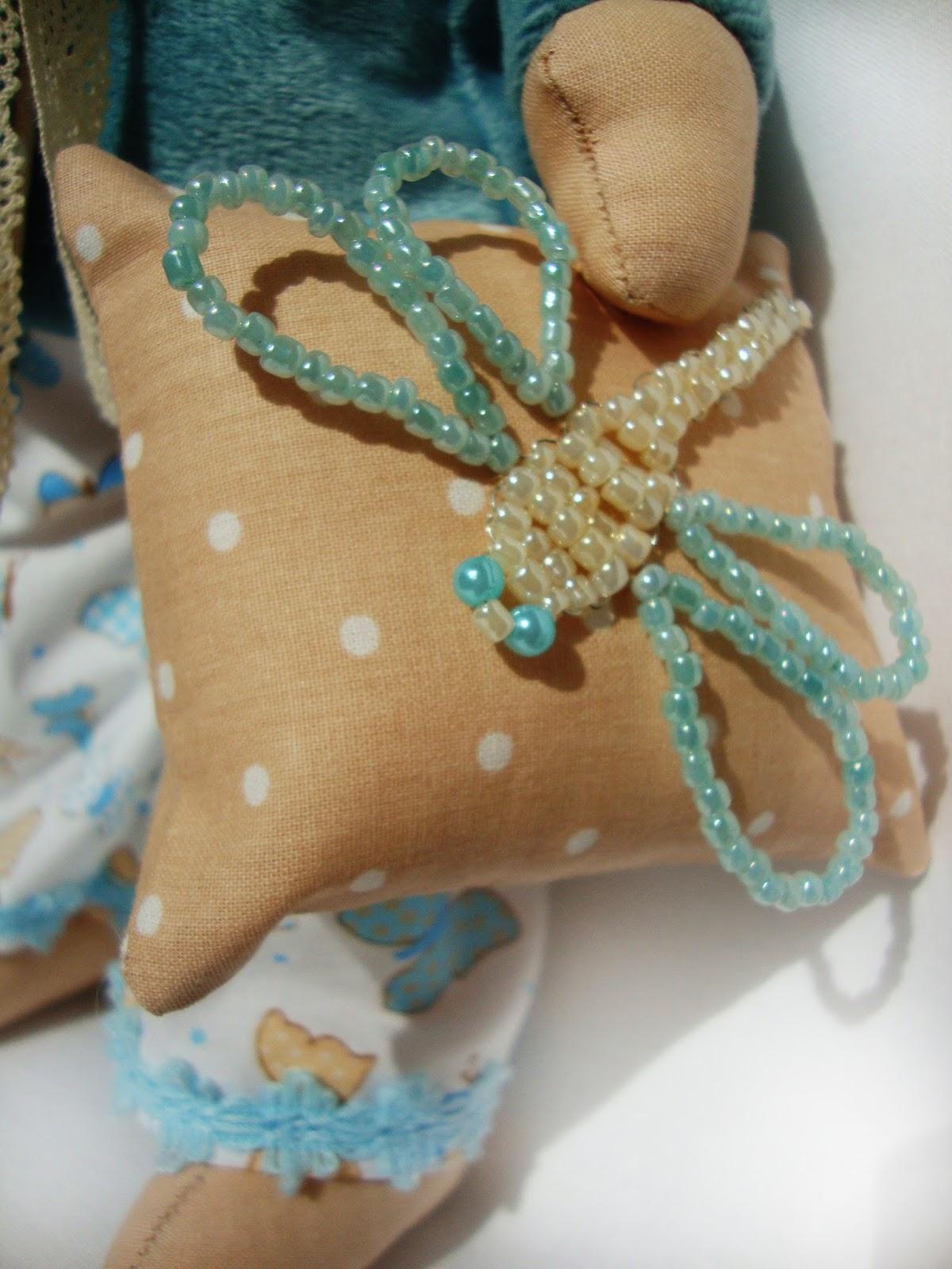 Ботаник Текстильная кукла ручной работы