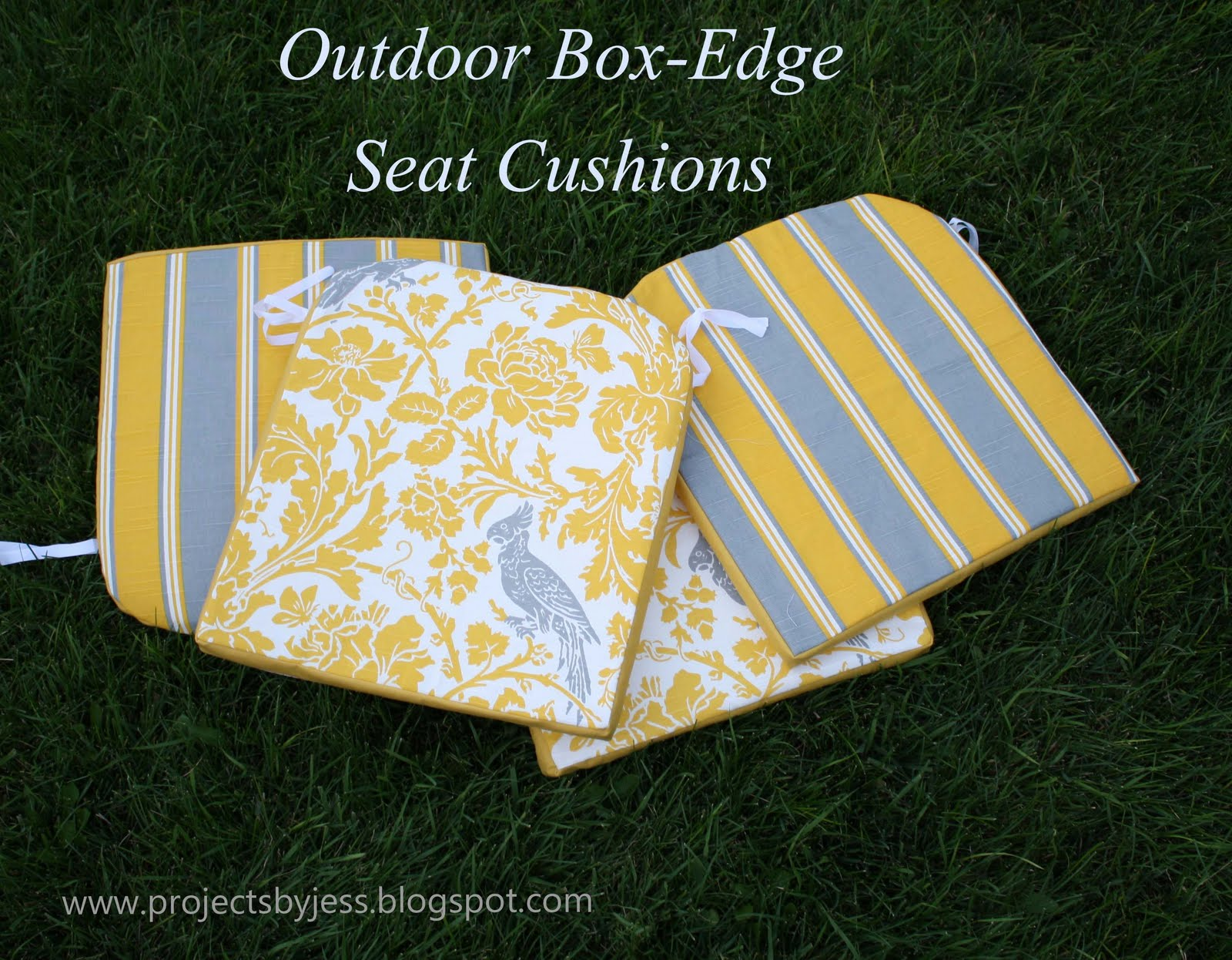 Tutorial: Outdoor Patio Seat Cushions