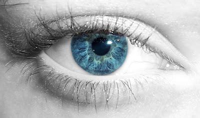 HD baby blue eye