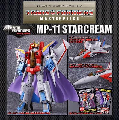 Takara Transformers Masterpiece MP-11 Starscream Figure Re-Release