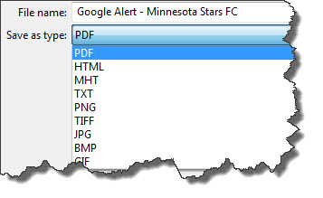 Export email to PDF, HTML, TXT, and other formats using PST Viewer Lite.