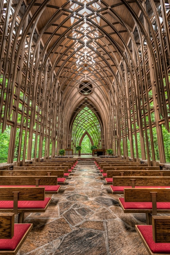 Glass Chapel In The Woods Arkansas