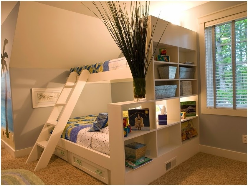4 Shared Kids Bedroom Storage and Organisation Ideas !!!: Some ...