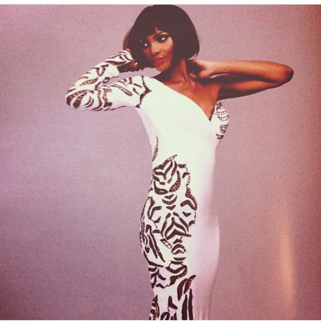 Agbani Darego Flaunts Her Sexy Figure