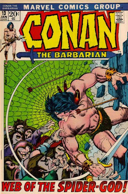 Conan the Barbarian #13, Web of the Spider-God, Barry Smith