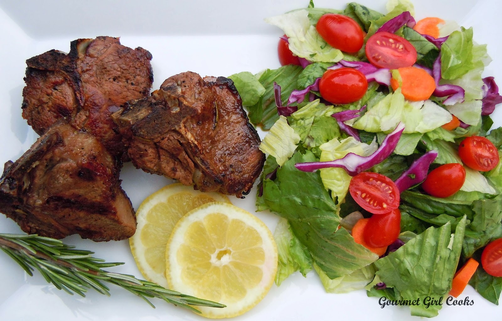 Grilled Lamb Cubes Cooked Greek Style Recipe — Dishmaps