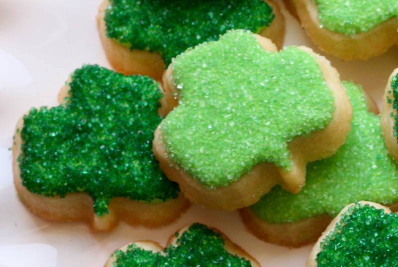 shamrock cookies, St. Patrick's Day Cookies