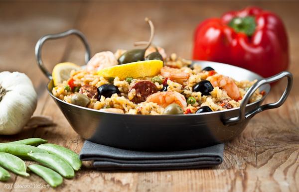 Paella Rezept Zutaten
