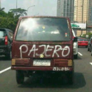 Pajero Hadiah dari Mama.,., sumber: Humorbb.blogspot.com