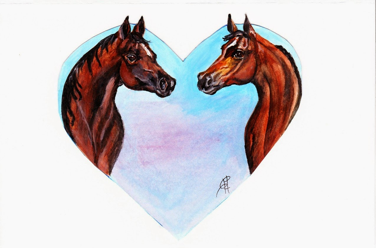 Horse Lover Free Printable Valentineu0027s Day Card