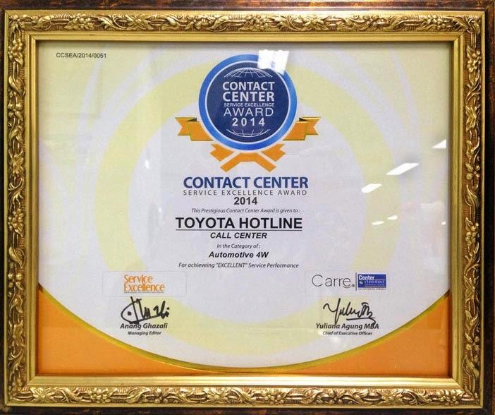 Service Exellence Award