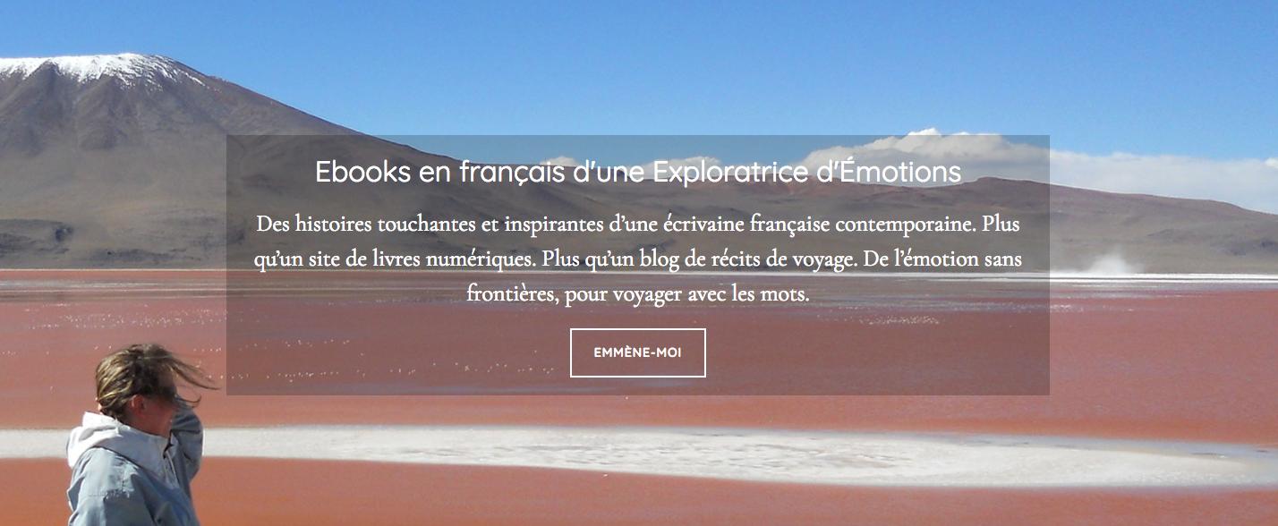 -------- NOUVEAU ! -------- Blog voyageur de votre écrivaine française d'ebooks préférée :)