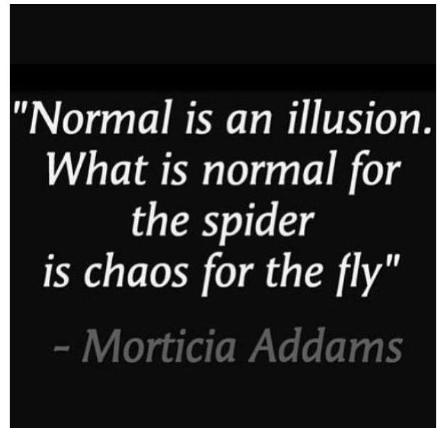 Normal is...... Normal