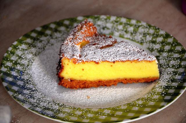 torta di robiola e panna