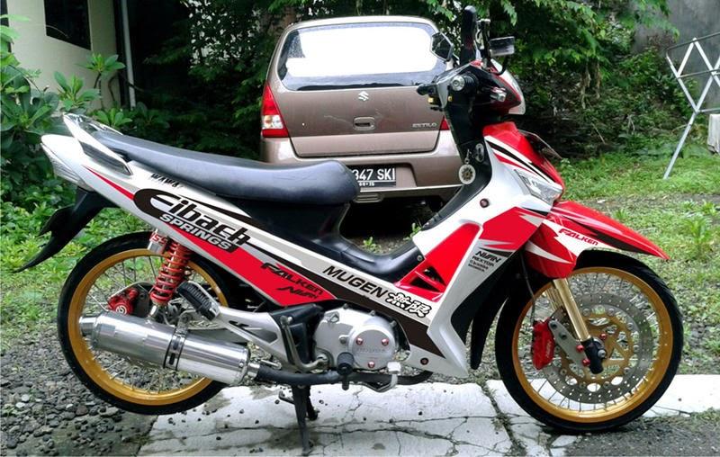 Modifikasi Shogun SP 125 - Gambar Modif Motor Suzuki Shogun