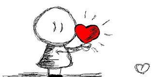 человечек и сердце