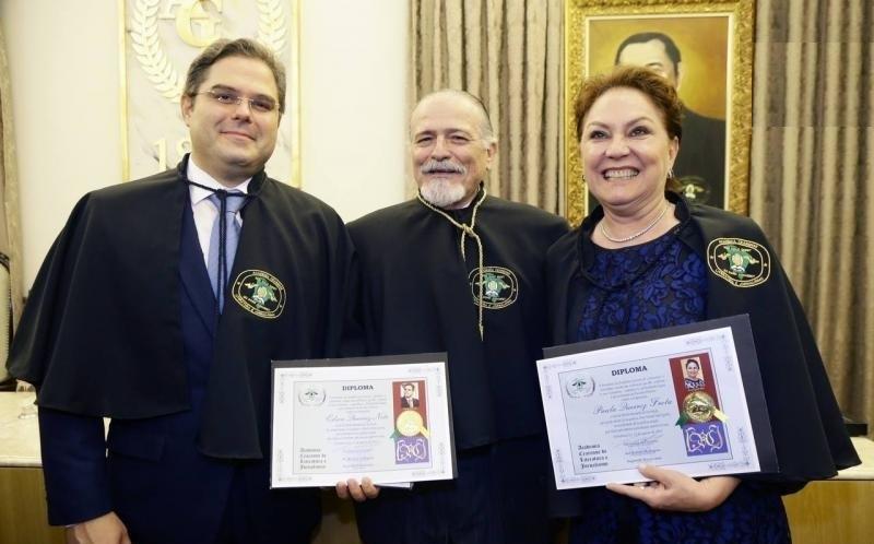 POSSES EDSON NETO E PAULA QUEIROZ