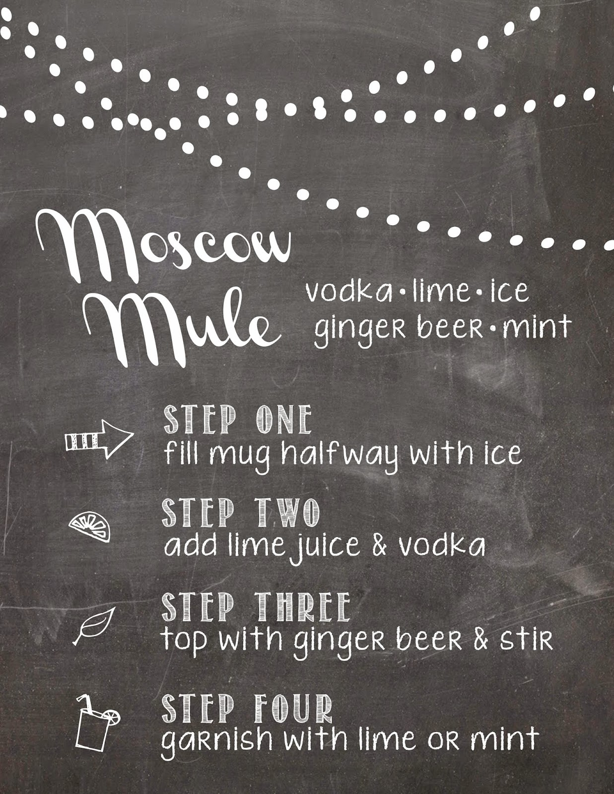 photograph about Moscow Mule Recipe Printable named birdberrymad: Moscow Mule Recipe Playing cards