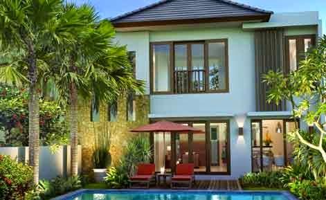 Gambar Desain Rumah Villa