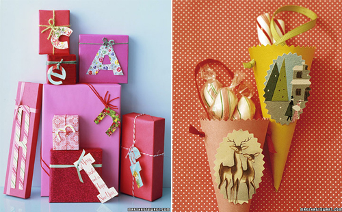The little bird ideas para envolver regalos - Ideas originales decoracion navidad ...