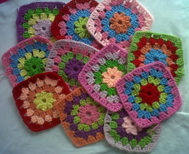 Pin imagenes colchas tejidas crochet kamistad celebrity - Colchas tejidas a crochet ...