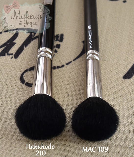 Hakuhodo 210 Brush Review Dupe