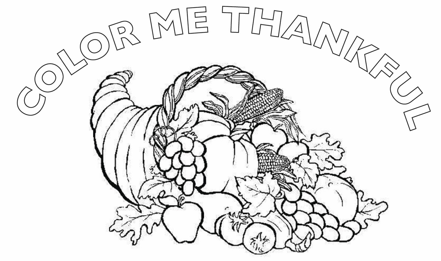 give thanks coloring pages - photo#29