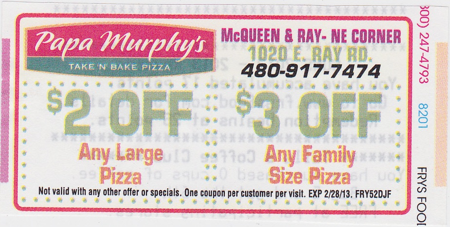 Papa murphy coupon codes