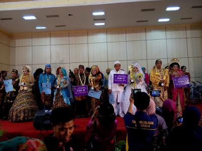 Pemkot Surabaya Gelar Lomba Rias Pengantin Dan Fasion Show Bagi Peserta Nikah Massal