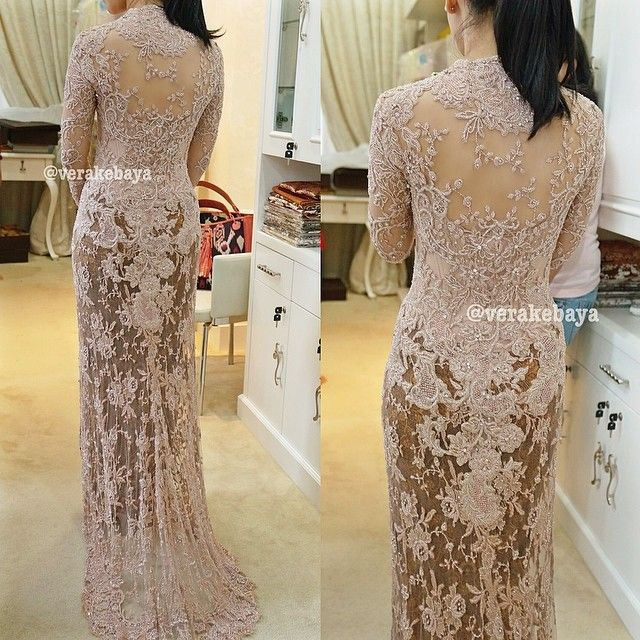 Model Vera Kebaya Long Dress Terbaru