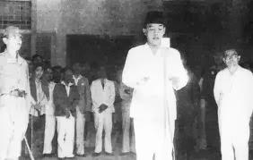 Sejarah Pengangkatan Sukarno Sebagai Presiden RI Pertama
