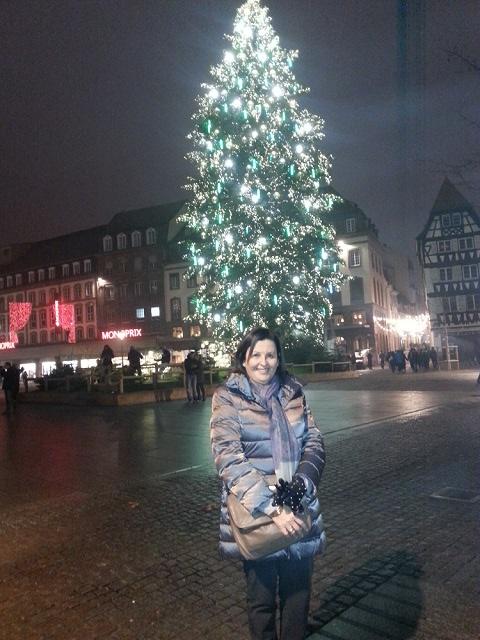 Arbol de Navidad de la Plaza Kleber