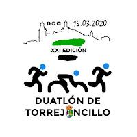 Logo XXI edición Duatlón Torrejoncillo