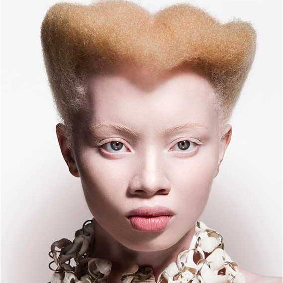 beauty 5 reasons why we love sa s albino model thando