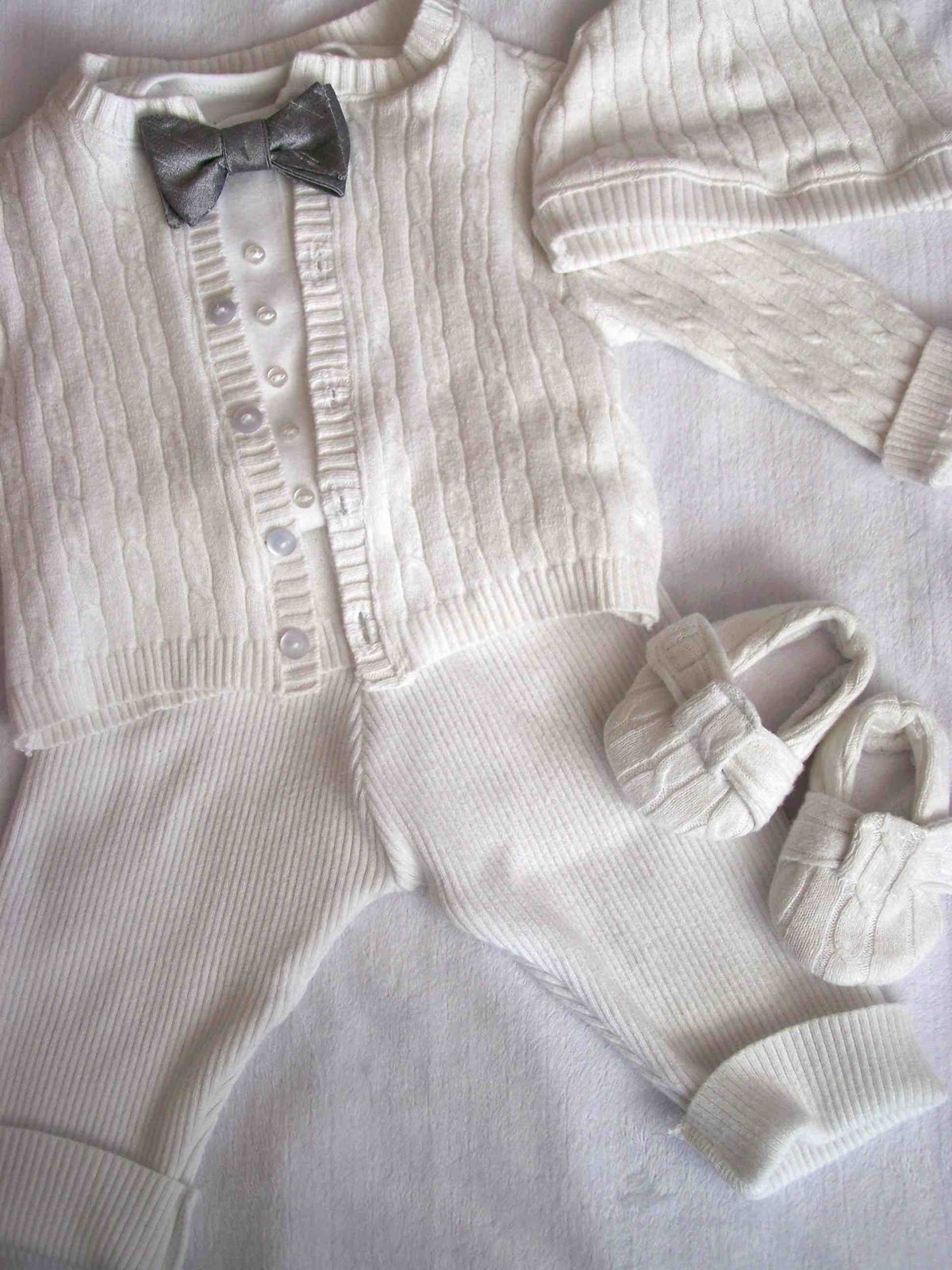 Baby Boy Christening Outfit Knitting Pattern : Made by Me. Shared with you.: Miles Blessing Outfit