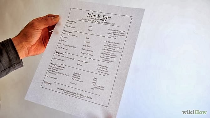 Perfect Guidelines For Printing Out Your Resume Idea Resume On Cardstock