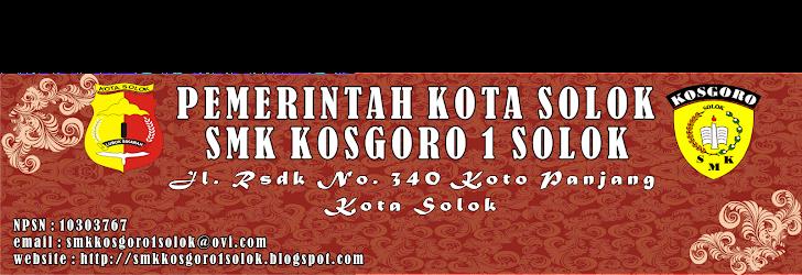 SMK KOSGORO I SOLOK