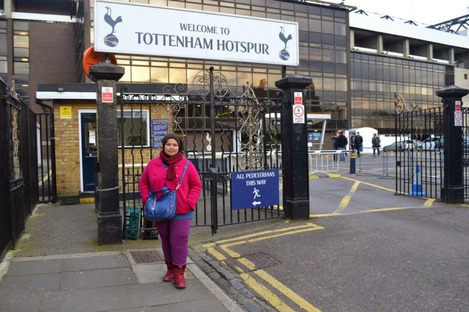 Tottenham, England (2014)