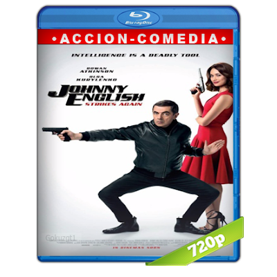 Johnny English 3.0 (2018) BRRip 720p Audio Trial Latino-Castellano-Ingles 5.1