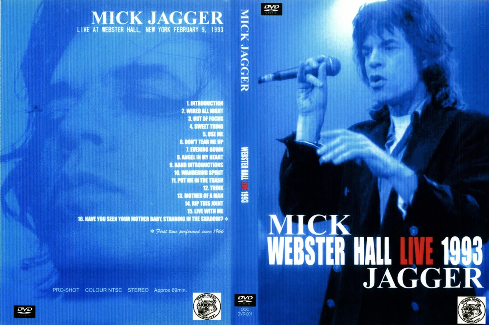 T.U.B.E.: Mick Jagger - 1993-02-09 - New York City, NY (DVDfull pro ...
