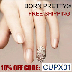 Cupom 10% off na Born Pretty Store