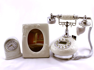 Telefone colonial foto