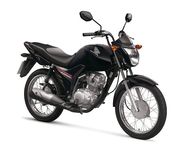 Honda CG 125i Fan 2016 - Preta