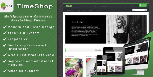 Best Bootstrap Prestashop Theme
