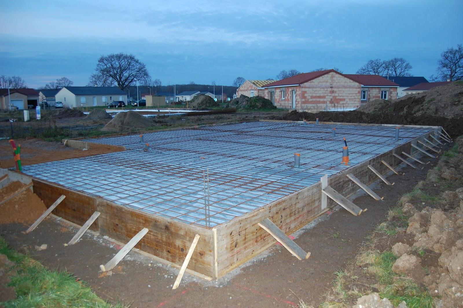 Construction d 39 une maison locative fondations for Soubassement d une maison
