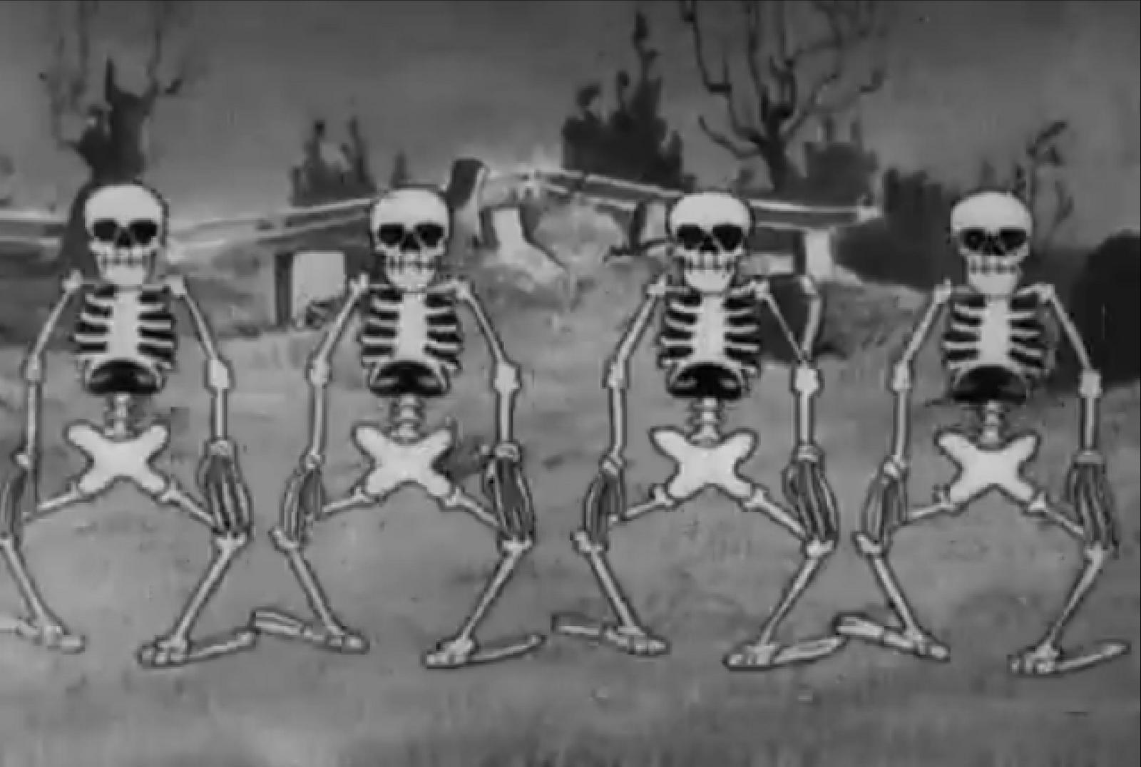 dancing skeleton book review