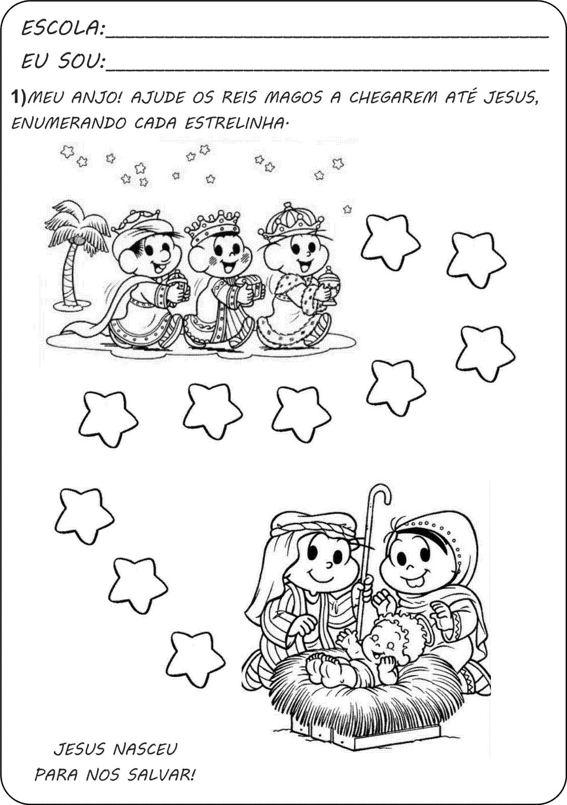Sugestões para o Natal - ENSINANDO COM CARINHO