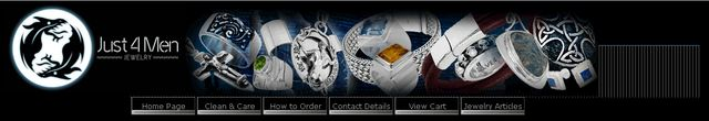 Gothic Jewelry from Sterling Silver Jewelry Just 4 Men.com
