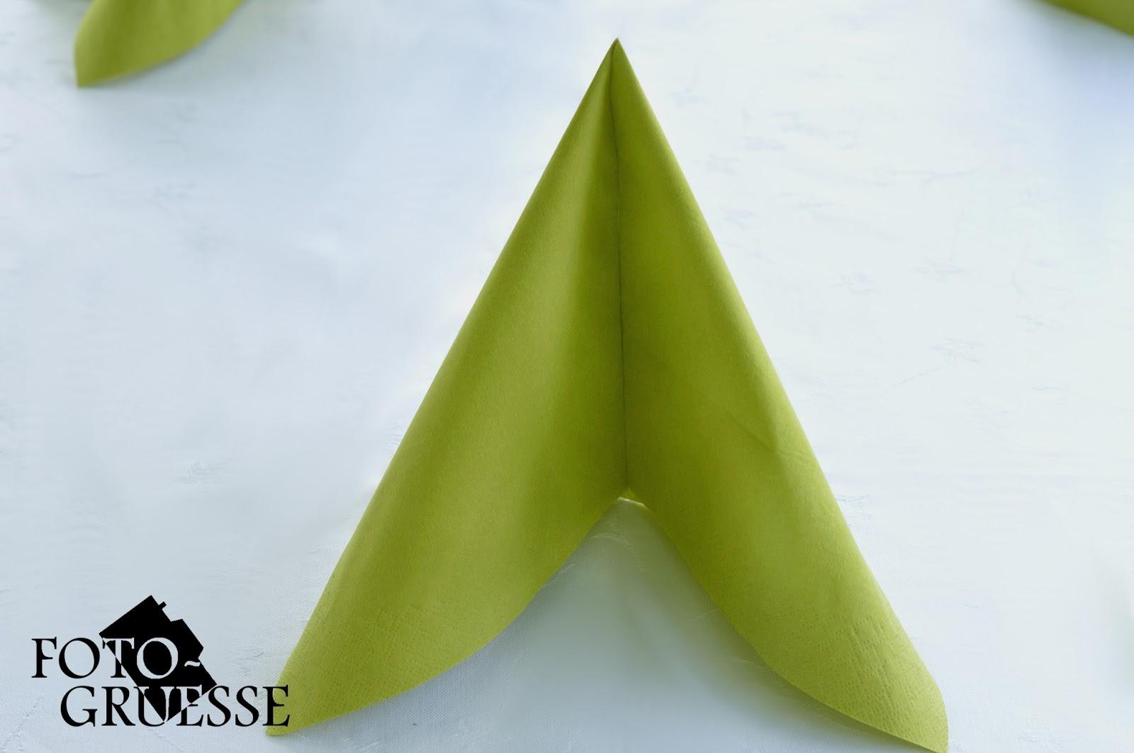 Fotogruesse diy servietten falten tafelspitz for Servietten falten festlich