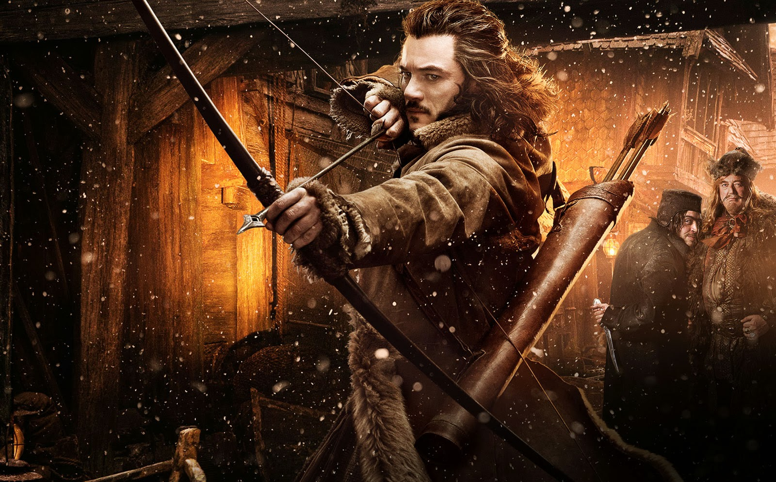 Bard The Bowman Hobbit Desolation Of Smaug Wallpaper 1600x944px